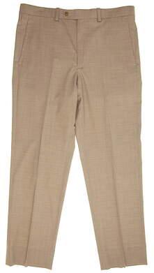 New Mens Carnoustie Golf Inverness Pants 34x30 Khaki MSRP $190 GCTI801013