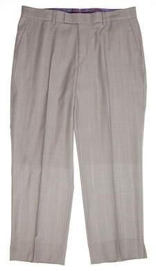 New Mens G-Mac Golf McSuperT Pants Size 36 X 29 Gray MSRP $240