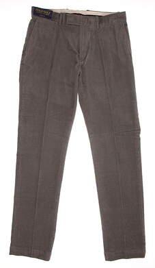 New Mens Ralph Lauren Polo Golf Range Fit Corduroy Pants 30x32 Gray MSRP $98