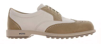 New Womens Golf Shoe Ecco Classic Hybrid 36 (5-5.5) Sand / White MSRP $220 11103352259