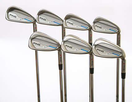 Ping 2015 i Iron Set 4-PW True Temper Dynamic Gold S300 Steel Stiff Right Handed 38 in