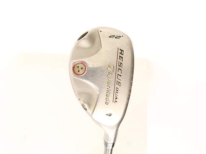 TaylorMade Rescue Dual Hybrid 4 Hybrid 22* TM Ultralite Hybrid Graphite Ladies Right Handed 39 in