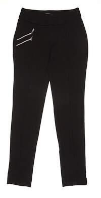 New Womens Jamie Sadock Golf Pants Size 2 Black MSRP $115