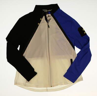 New Womens Jamie Sadock Full Zip Golf Sweatshirt Medium M MSRP $98