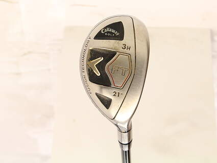 Callaway 2008 FT Hybrid Hybrid 3 Hybrid 21* Callaway Fujikura Fit-On M HYB Graphite Stiff Right Handed 40 in