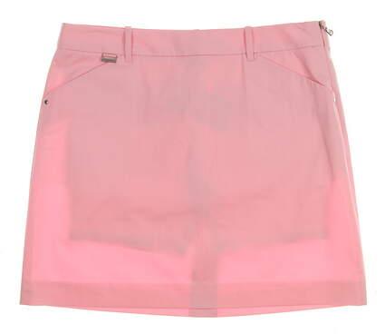 New Womens Ralph Lauren Golf Cotton Blend Clio Skort Size 6 Pink MSRP $125