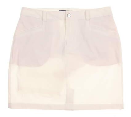 New Womens Ralph Lauren Polo Golf Tech Skort Size 6 White MSRP $125