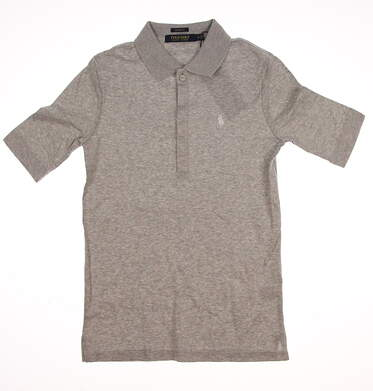 New Womens Ralph Lauren Golf Polo Small S Gray MSRP $98