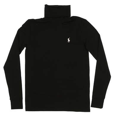 New Mens Ralph Lauren Golf Sweater Small S Black MSRP $98