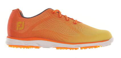 New Womens Golf Shoe Footjoy emPOWER Medium 7.5 Orange MSRP $120