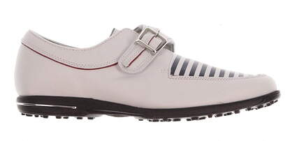 New Womens Golf Shoe Footjoy Tailored Collection Medium 9 White MSRP $150