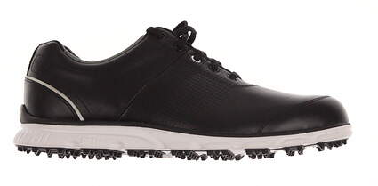 New Mens Golf Shoe Footjoy DryJoys Casual Medium 9.5 Black MSRP $250