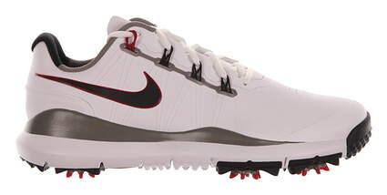 New Mens Golf Shoe Nike TW 14 Medium 8.5 White/Grey MSRP $220