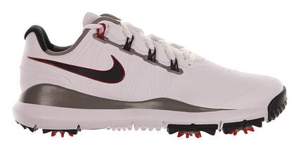 New Mens Golf Shoe Nike TW 14 Medium 10 Black/Red MSRP $220