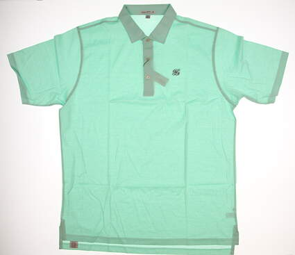 New W/ Logo Mens Peter Millar Golf Polo X-Large XL MSRP $95