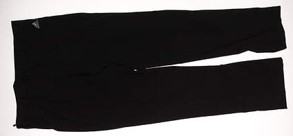 New Mens Adidas Golf Pants Size 32 Black MSRP $70