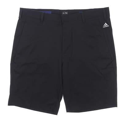 New Mens Adidas Golf Shorts Size 36 Black MSRP $60