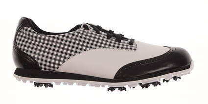New Womens Golf Shoe Adidas Driver Grace Medium 8.5 White/Black MSRP $80