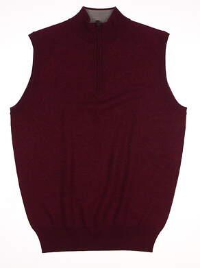 New Mens Peter Millar Golf Vest Small S MSRP $139