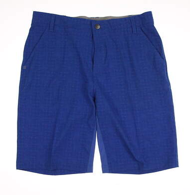 New Womens Adidas Golf Shorts Size 32 Blue MSRP $60
