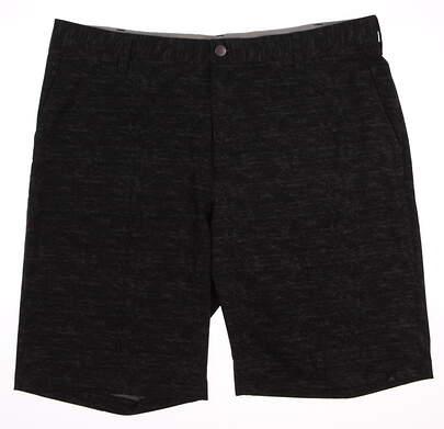New Mens Adidas Golf Shorts Size 38 Black MSRP $80