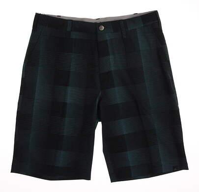 New Mens Adidas Golf Shorts Size 32 Blue MSRP $80