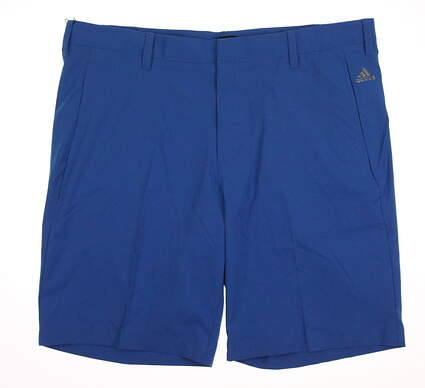New Mens Adidas Golf Shorts Size 38 Blue MSRP $65