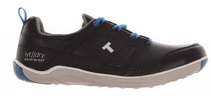 New Mens Golf Shoe True Linkswear LYT Dry 8.5 Black MSRP $230