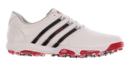 New Mens Golf Shoe Adidas Tour 360 X Medium 11 White/Red MSRP $160