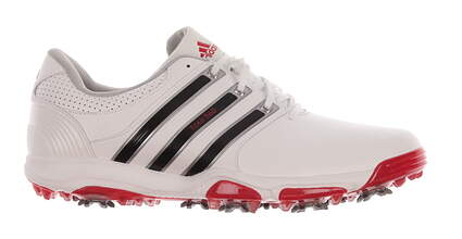 New Mens Golf Shoe Adidas Tour 360 X Medium 11.5 White/Red MSRP $160