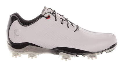 New Mens Golf Shoes Footjoy DNA Medium 10 White/Black 53493 MSRP $200