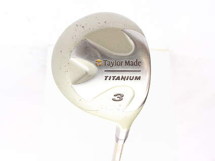 TaylorMade Ti Bubble Fairway Wood 3 Wood 3W TM Bubble Graphite Ladies Right Handed 42 in