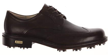 New Mens Golf Shoe Ecco World Class Medium 10-10.5 Brown MSRP $500