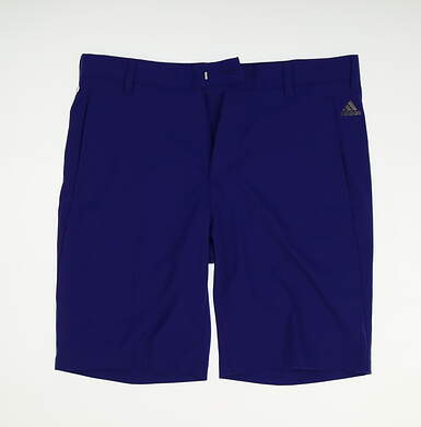 New Mens Adidas Golf Shorts Size 32 Blue MSRP $60