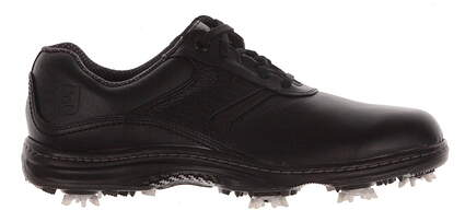 New Mens Golf Shoe Footjoy Contour Series Medium 11.5 Black MSRP $110