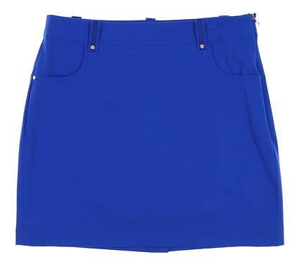 New Womens Ralph Lauren Polo Golf Skort Size 6 Blue MSRP $125