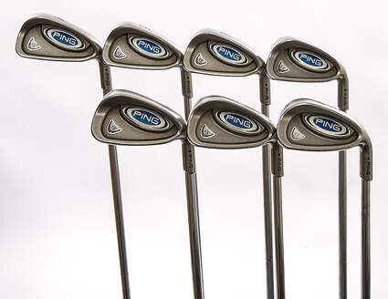 Ping i5 Iron Set 4-PW Stock Steel Shaft Steel Stiff Right Handed Black Dot 37.75 in
