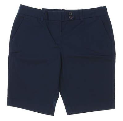 New Womens Vineyard Vines Golf Shorts Size 8 Navy Blue MSRP $88