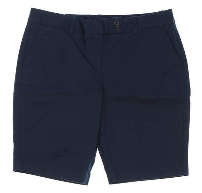 New Womens Vineyard Vines Golf Shorts Size 10 Navy Blue MSRP $88