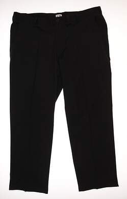 New Mens Adidas Golf Pants Size 40 Black MSRP $80