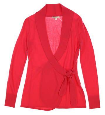 New Womens Fairway & Greene Darling Cashmere Wrap Caridgan Sweater X-Small XS Pink MSRP $335 F12273