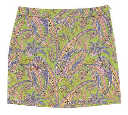 New Womens Ralph Lauren Golf Summer Print Skort Size 6 Multi MSRP $145 3865829