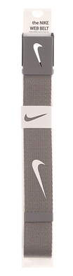 New Mens Nike Golf Tech Essentials Web Belt One Size Fits Most Gray MSRP $20 1111309