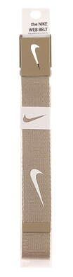 New Mens Nike Golf Tech Essentials Web Belt One Size Fits Most Tan MSRP $20 1111303
