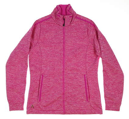 New Womens Antigua Golf Jacket Small S Pink MSRP $66 101054