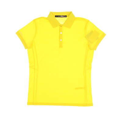 New Womens Ralph Lauren Golf Polo Medium M Yellow MSRP $89