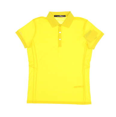 New Womens Ralph Lauren Golf Polo Small S Yellow MSRP $89