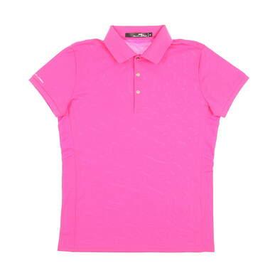 New Womens Ralph Lauren Golf Polo Medium M Pink MSRP $89