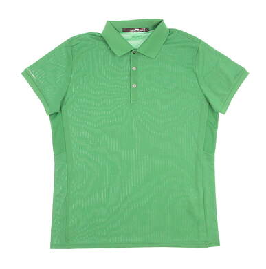 New Womens Ralph Lauren Golf Polo Large L Green MSRP $89