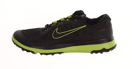 New Mens Golf Shoe Nike Fi Impact Medium 8.5 Black/Green MSRP $200